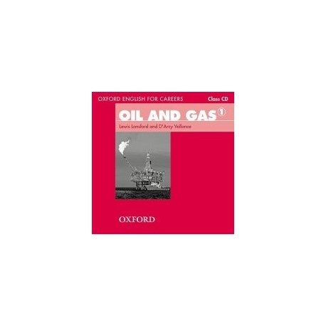Oxford English for Careers Oil and Gas 1 Class CD Oxford University Press 9780194569675