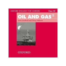 Oxford English for Careers Oil and Gas 1 Class CD