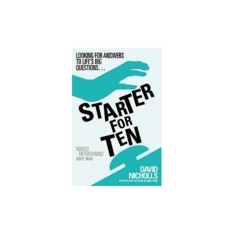 Starter for Ten Hodder & Stoughton 9780340734872