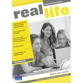Real Life Upper-intermediate Czech Workbook + MultiROM