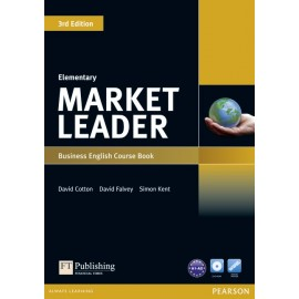 Market Leader Third Edition Elementary Coursebook + DVD-ROM