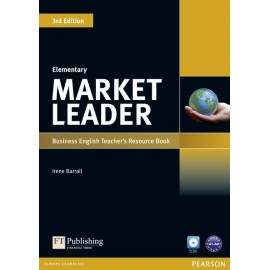 Market Leader Third Edition Elementary Teacher's Book with Test Master CD-ROM