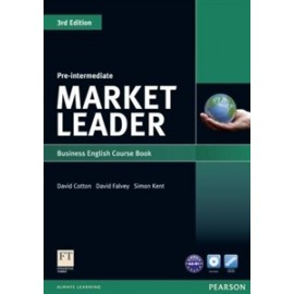 Market Leader Third Edition Pre-Intermediate Coursebook + DVD-ROM