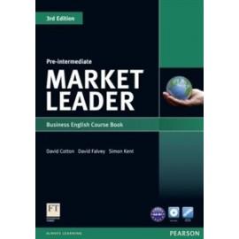 Market Leader Third Edition Pre-Intermediate Coursebook + DVD-ROM