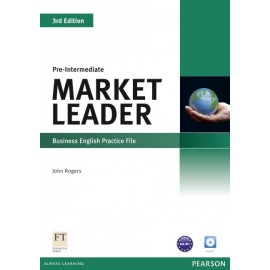 Market Leader Third Edition Pre-Intermediate Practice File + CD
