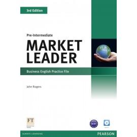 Market Leader Third Edition Pre-Intermediate Practice File + CD