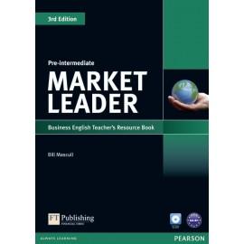 Market Leader Third Edition Pre-Intermediate Teacher's Book with Test Master CD-ROM
