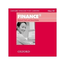Oxford English for Careers Finance 1 Class CD