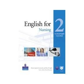 English for Nursing Level 2 Coursebook + CD-ROM