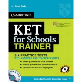 KET for Schools Trainer with answers + CDs