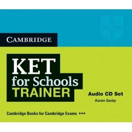 KET for Schools Trainer Audio CDs
