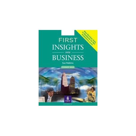First Insights into Business Coursebook Longman 9780582846623