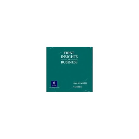 First Insights into Business Audio CD Longman 9780582771345