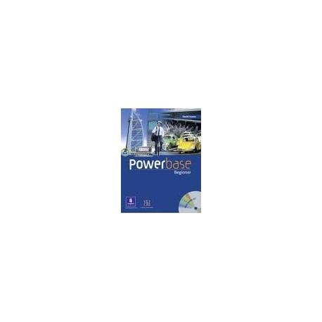 Powerbase Beginner Coursebook + Class CD Longman 9780582487994