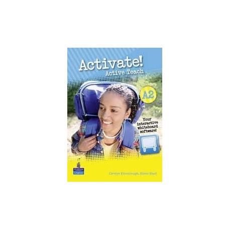 Activate! A2 Active Teach (Interactive Whiteboard software) Longman 9781408224250