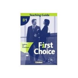 First Choice B1 Příručka učitele + CD-ROM