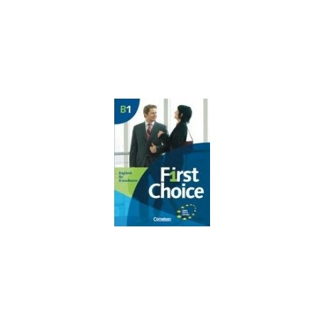 First Choice B1 Učebnice + CD Fraus 9783464019559