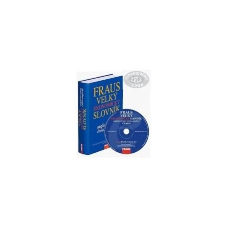 Komplet FRAUS Velký ekonomický slovník anglicko-český / česko-anglický (kniha + CD-ROM) Fraus 9788072387281