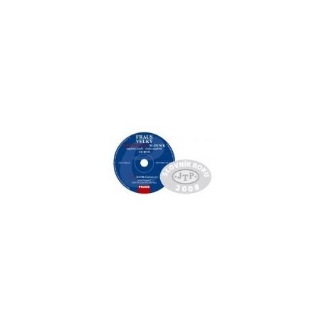 FRAUS Velký ekonomický slovník anglicko-český / česko-anglický CD-ROM Fraus 9788072387151
