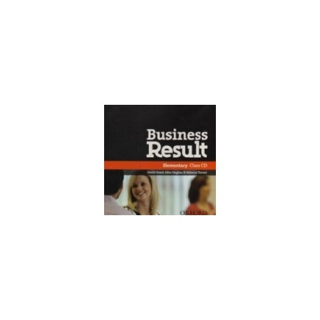 Business Result Elementary Class Audio CDs Oxford University Press 9780194748070