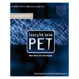 Insight into PET Student's Book (without answers)