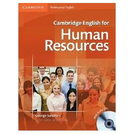 Cambridge English for Human Resources Intermediate - Upper Intermediate Student's Book with Audio CDs