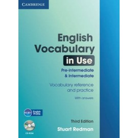 English Vocabulary in Use Third Edition Pre-intermediate and Intermediate + CD-ROM with answers