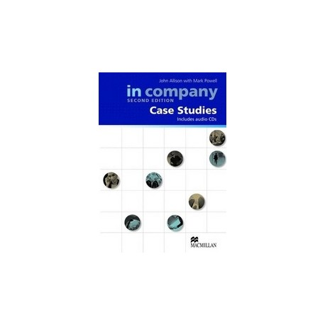 In Company All Levels Second Edition Case Studies Pack Macmillan 9780230717060