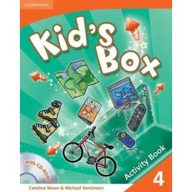 Kid's Box 4 Activity Book with CD-ROM