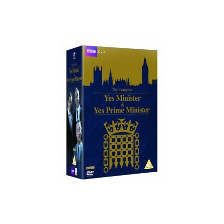 The Complete Yes Minister & Yes Prime Minister DVD - Collector's Box Set BBC 5014503211325