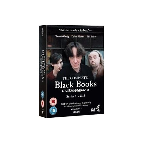 The Complete Black Books DVD Box Set Channel 4 6867441051596