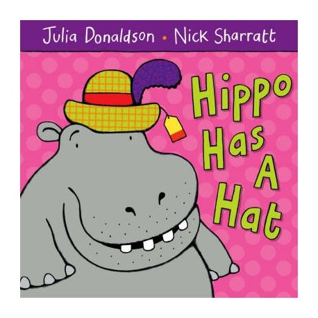 Hippo Has a Hat Macmillan Publishers 9781405021920