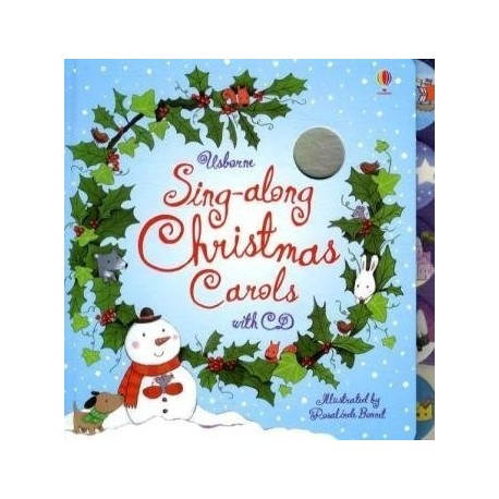 Sing-along Christmas Carols + CD Usborne Publishing 9781409507680