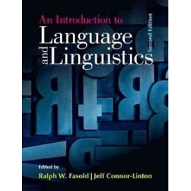 An Introduction to Language and Linguistics Second Edition