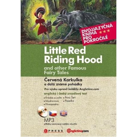 Little Red Riding Hood and Other Fairy Tales / Červená karkulka a jiné pohádky + MP3 Audio CD CP Press 9788025137642