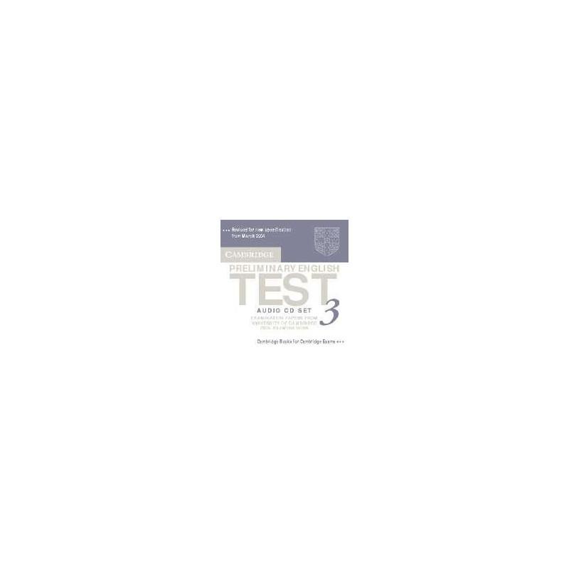 Cambridge Preliminary English Test 3 Audio CDs (2)
