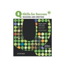 Q: Skills for Success 3 Reading and Writing Student's Book with Online Practice
