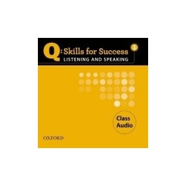 Q: Skills for Success 1 Listening and Speaking CLASS AUDIO CD