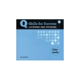 Q: Skills for Success 2 Listening and Speaking CLASS AUDIO CD