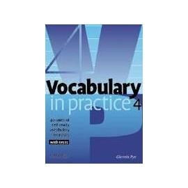 Vocabulary in Practice 4 - Intermediate