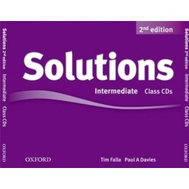 Maturita Solutions Second Edition Intermediate Class Audio CDs