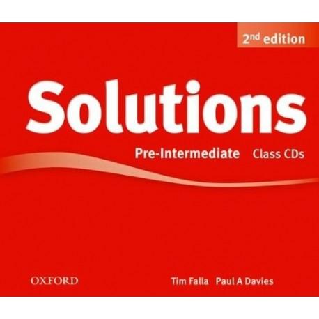 Maturita Solutions Second Edition Pre-Intermediate Class Audio CDs Oxford University Press 9780194554244