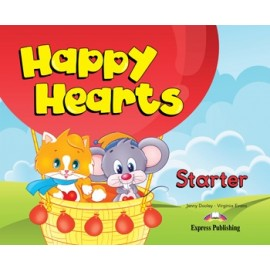 Happy Hearts Starter Pupil's Book + Stickers and Press Outs + MultiROM