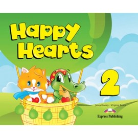 Happy Hearts 2 Pupil's Book + Stickers and Press Outs