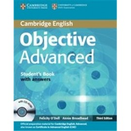 Objective Advanced (Third Ed.) Student's Book with answers + CD-ROM
