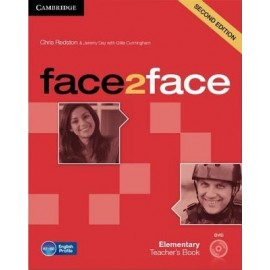 face2face Elementary Second Ed. Teacher's Book + DVD