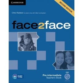 face2face Pre-intermediate Second Ed. Teacher's Book + DVD
