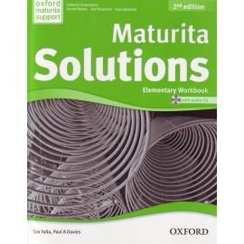 Maturita Solutions Second Edition Elementary Workbook Czech Edition