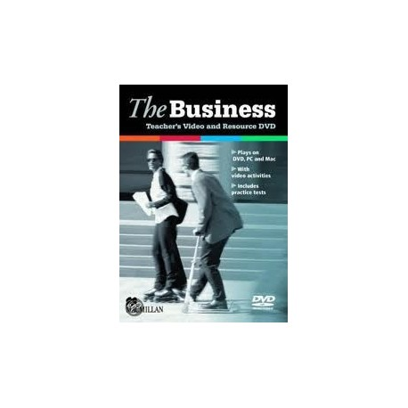 The Business Teacher's Video and Resource DVD Macmillan 9780230418691