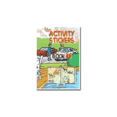 Activity Stickers Book 1 Andrew Betsis 9789604131440